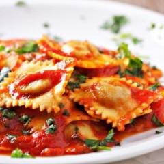 About Ravioli pasta